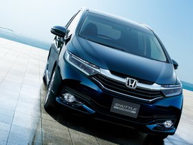 Fotos de Honda Fit Shuttle Hybrid 2015