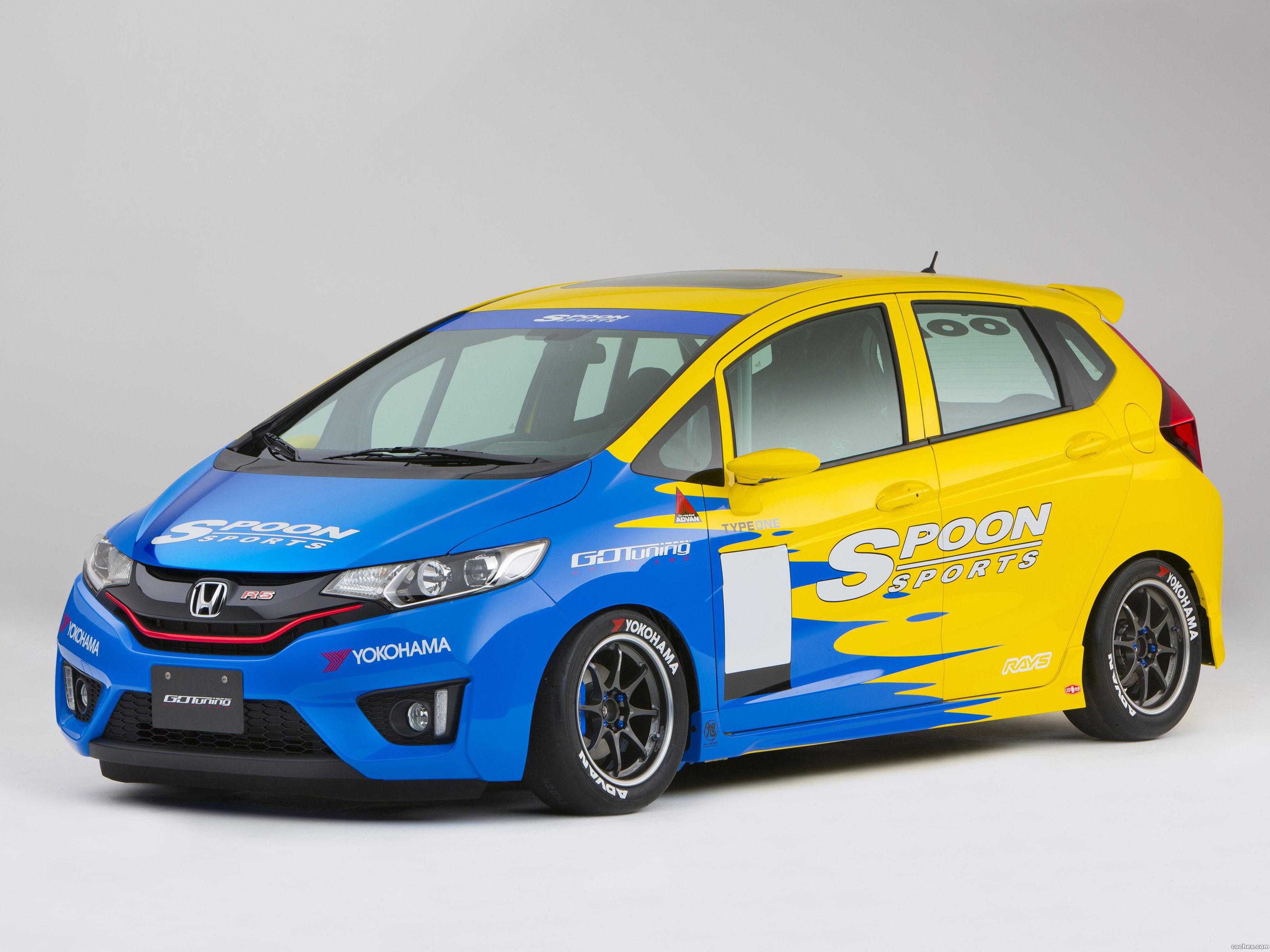 Foto 0 de Honda Fit Spoon Sports Super Taikyu 2014