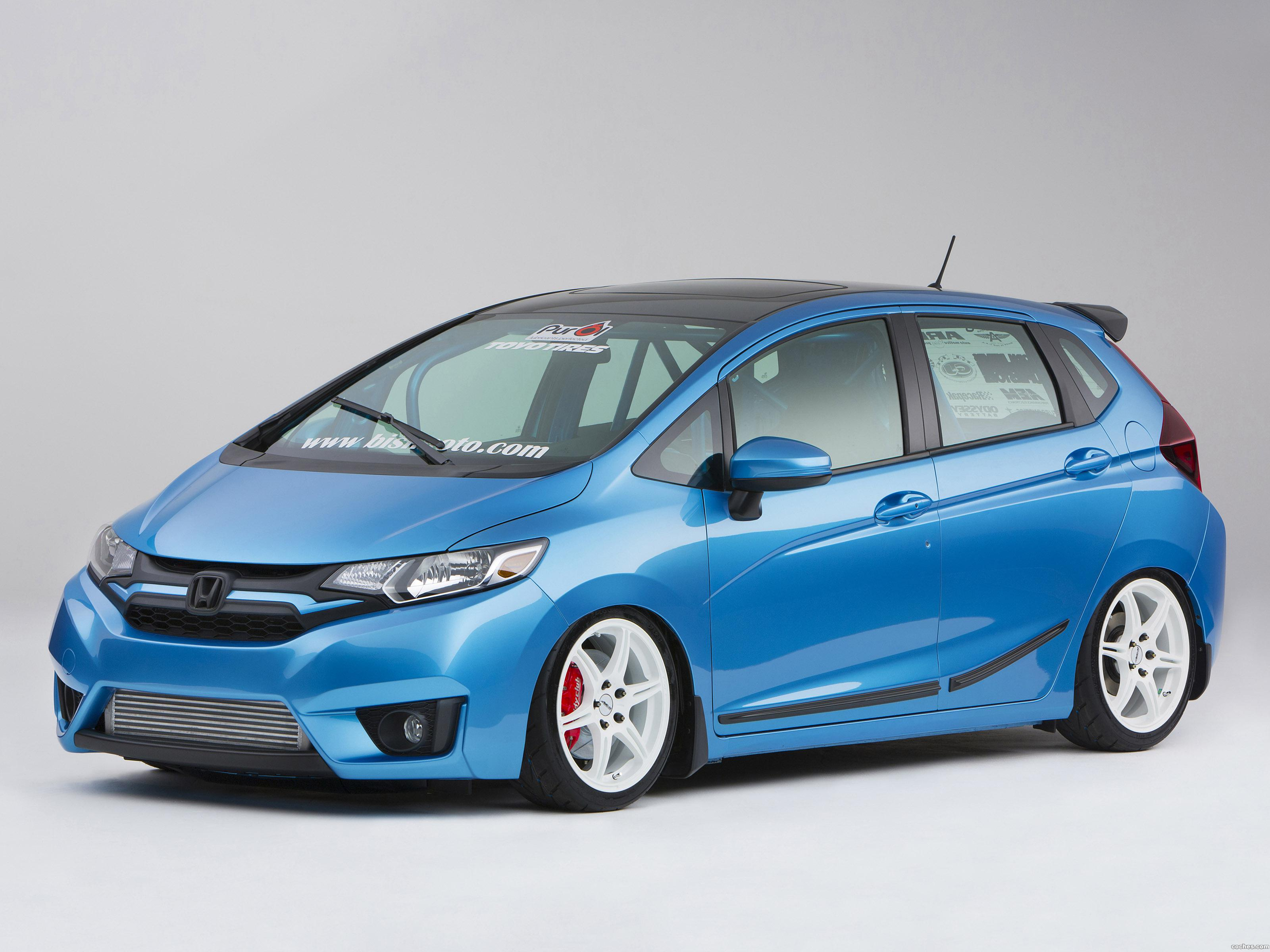 Foto 0 de Honda Fit Turbo by Bisimoto Engineering 2014
