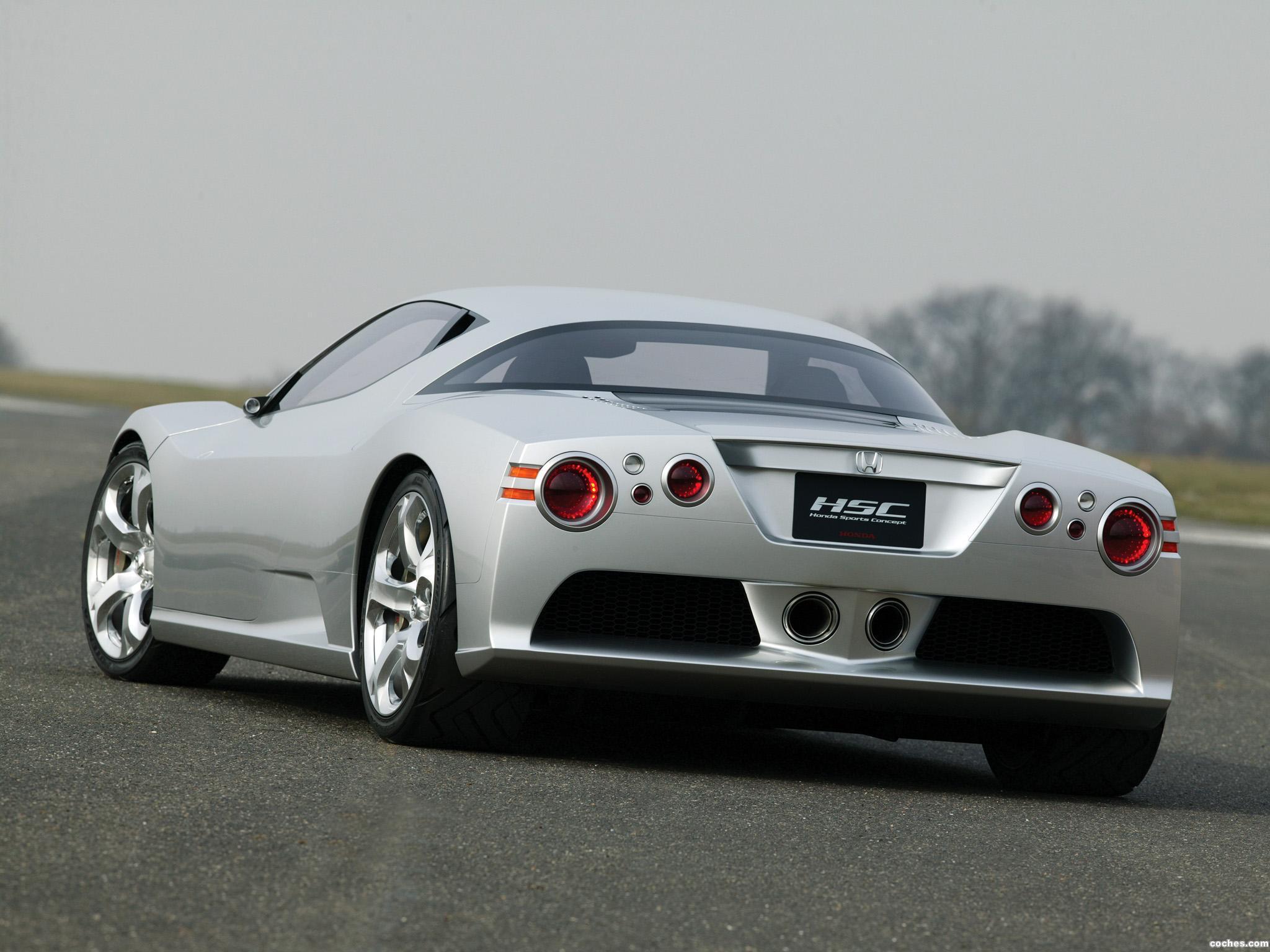 Foto 3 de Honda HSC Concept 2003