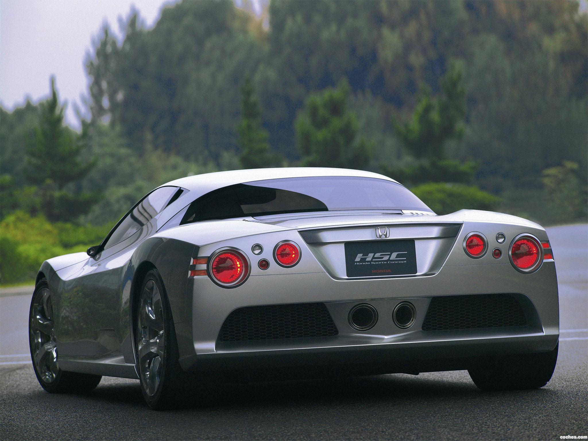 Foto 9 de Honda HSC Concept 2003