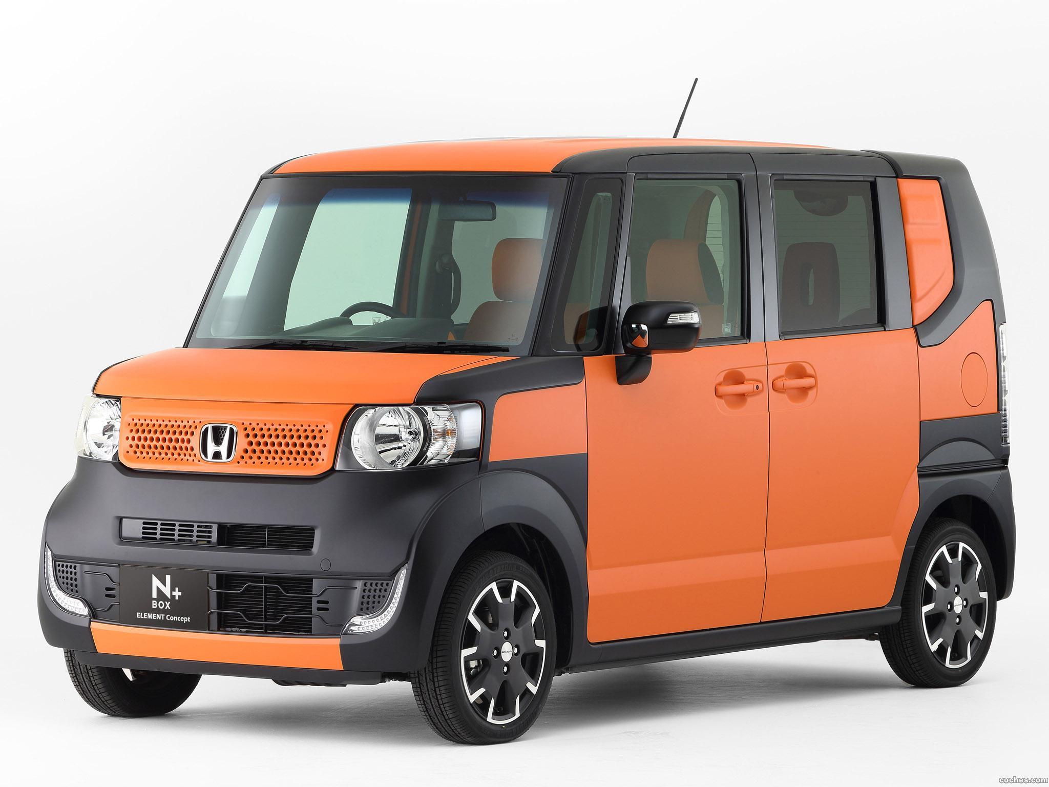 Foto 0 de Honda N-Box Element Concept JF1 2014