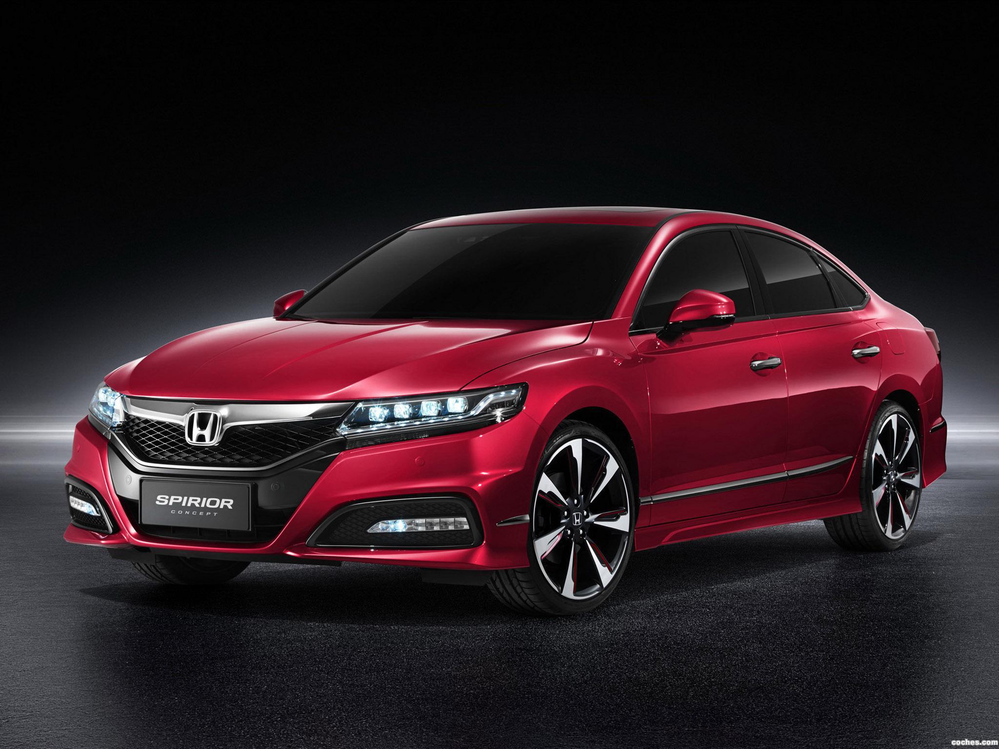 Foto 0 de Honda Spirior Concept 2014