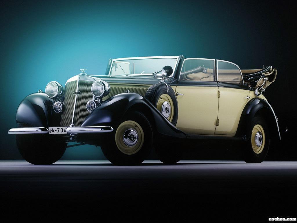 Foto 0 de Horch 830 BL Cabriolet 1939