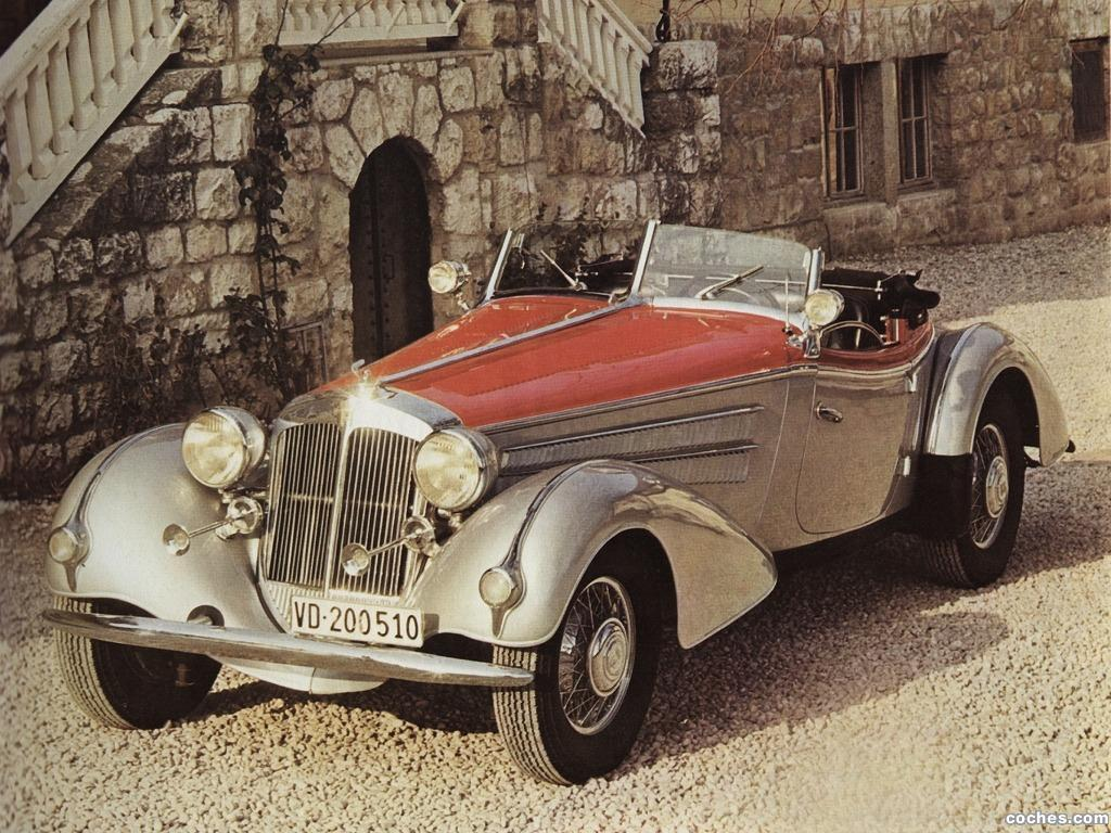 Foto 0 de Horch 850 Roadster 1937