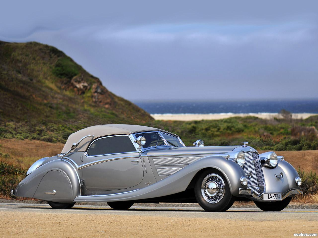 Foto 0 de Horch 853 Sport Cabriolet by Voll and Ruhrbeck 1935
