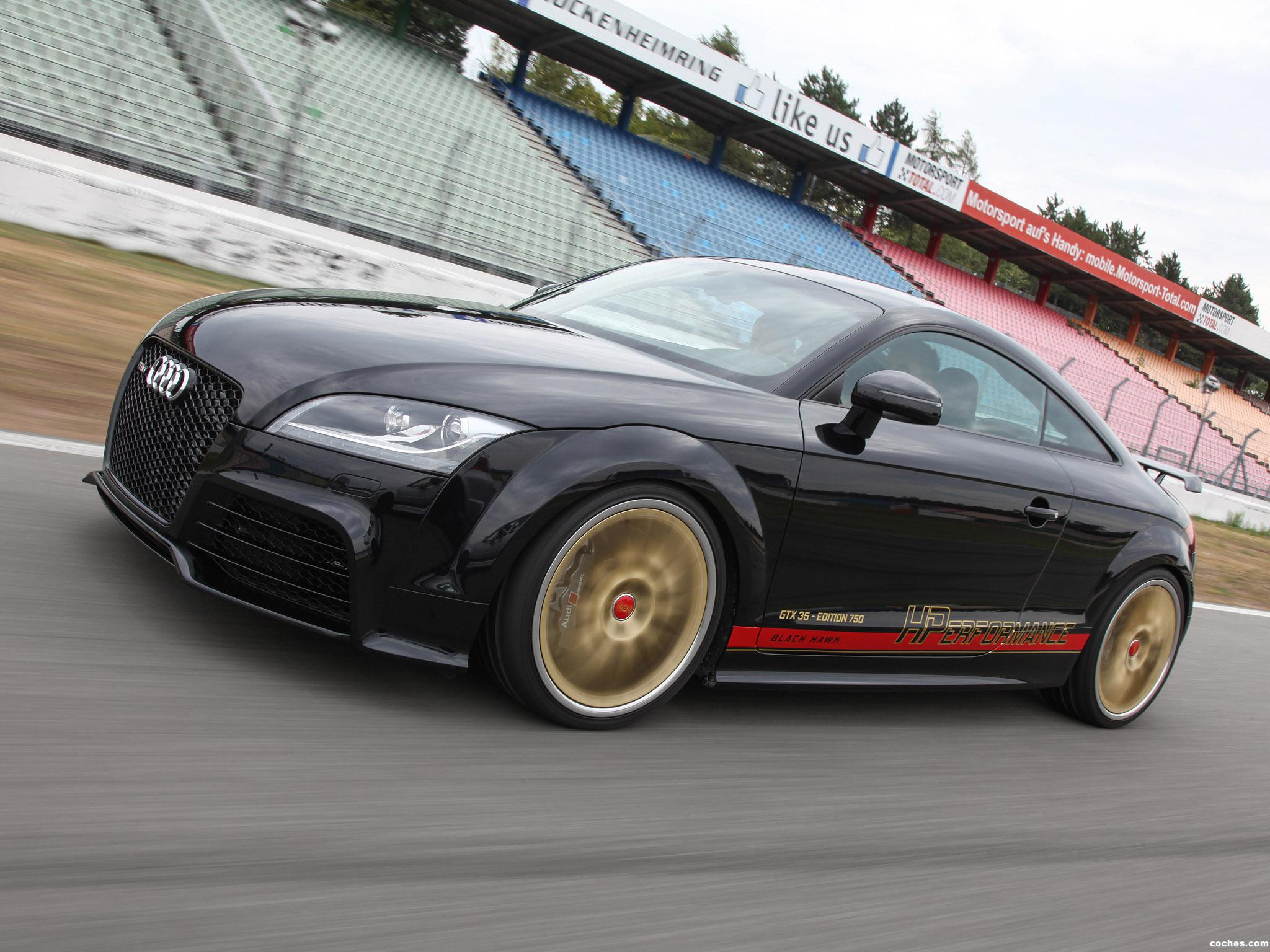 Foto 3 de HPerformance Audi TT RS Black Hawk 2015
