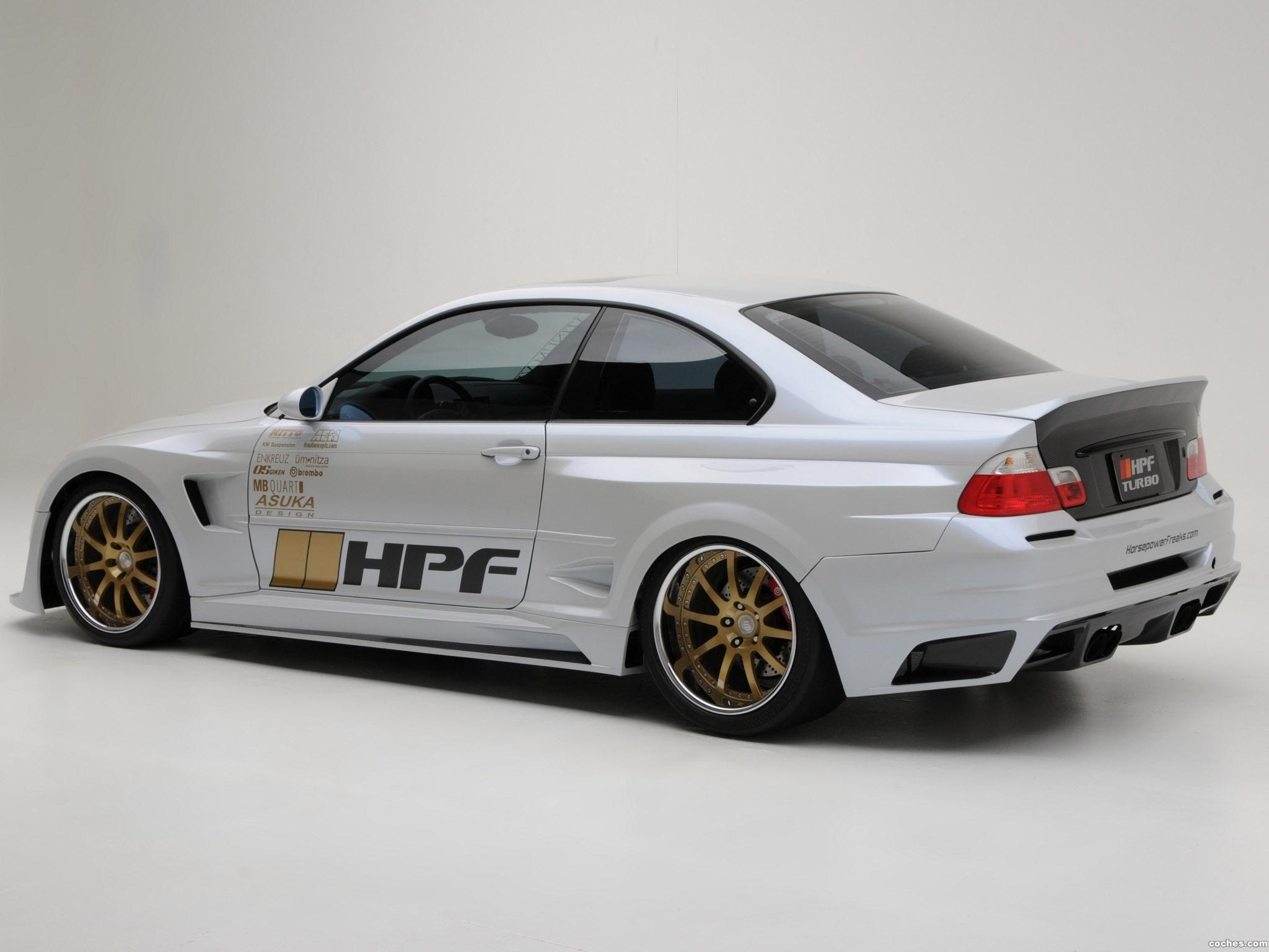 Foto 5 de HPF BMW Serie 3 M3 Turbo Stage 4 E46 2009