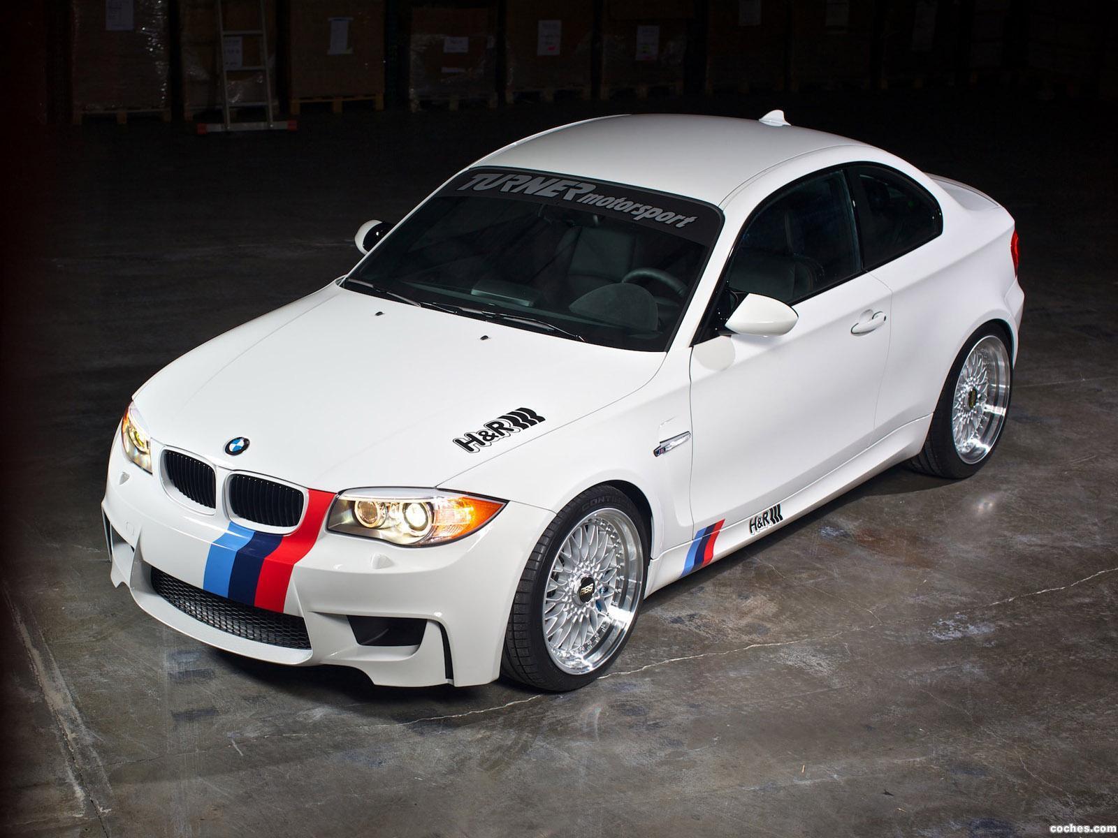 Foto 2 de BMW H&R Serie 1 M Coupe 2011
