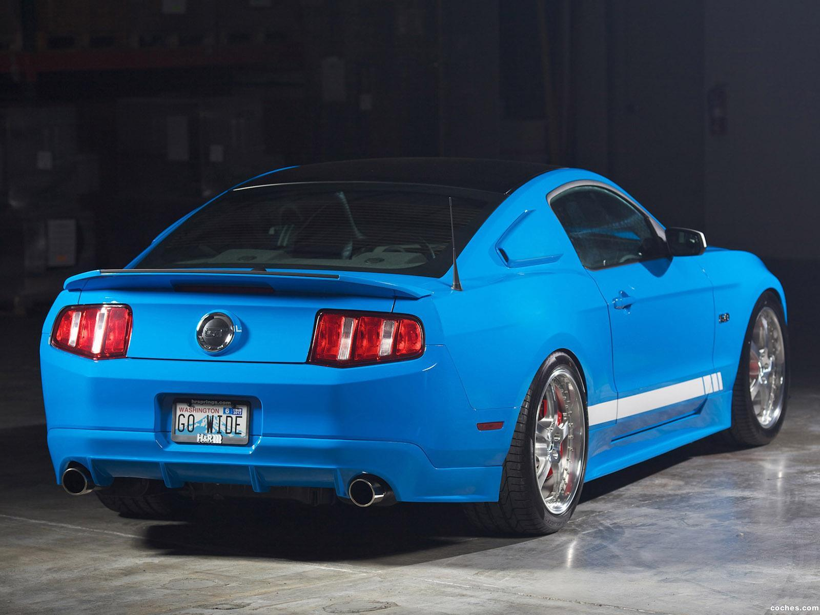 Foto 2 de H&R Ford Mustang GT 5.0 Project Legend 2011