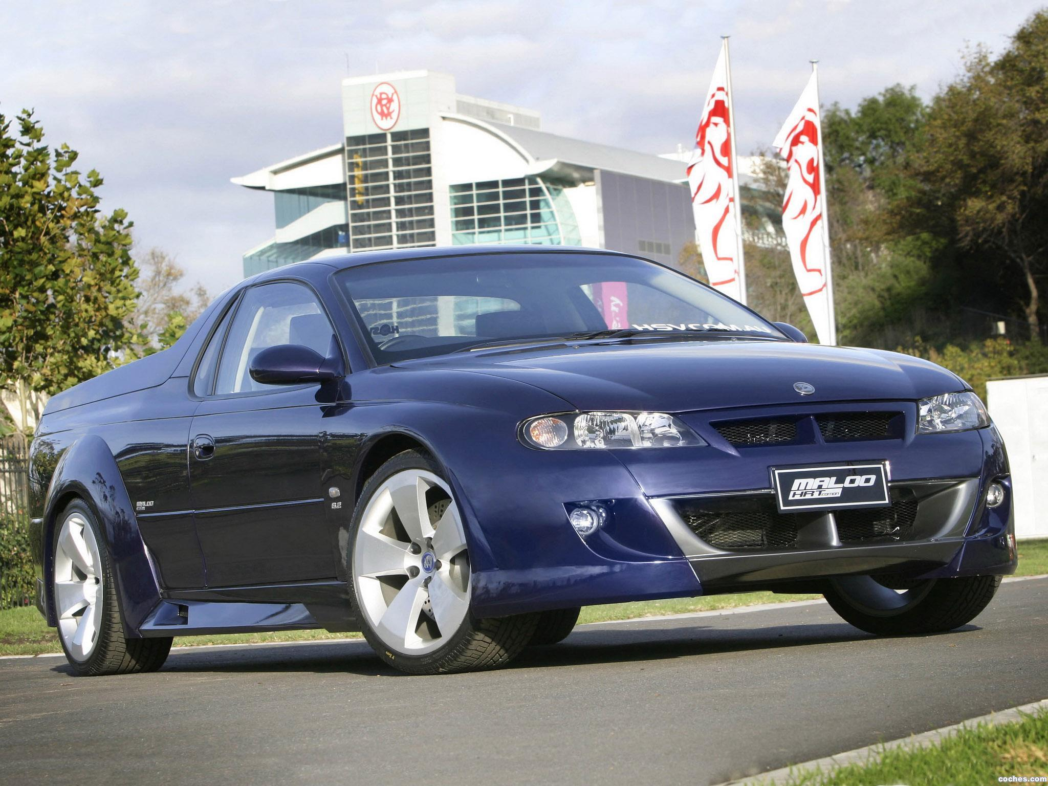 Foto 0 de Holden HSV Maloo Concept 2001