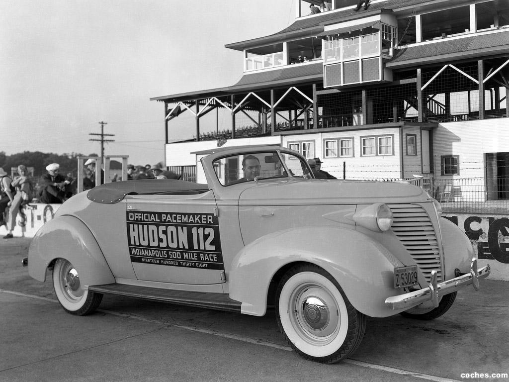 Foto 0 de Hudson 112 Convertible Indy 500 Pace Car 1938