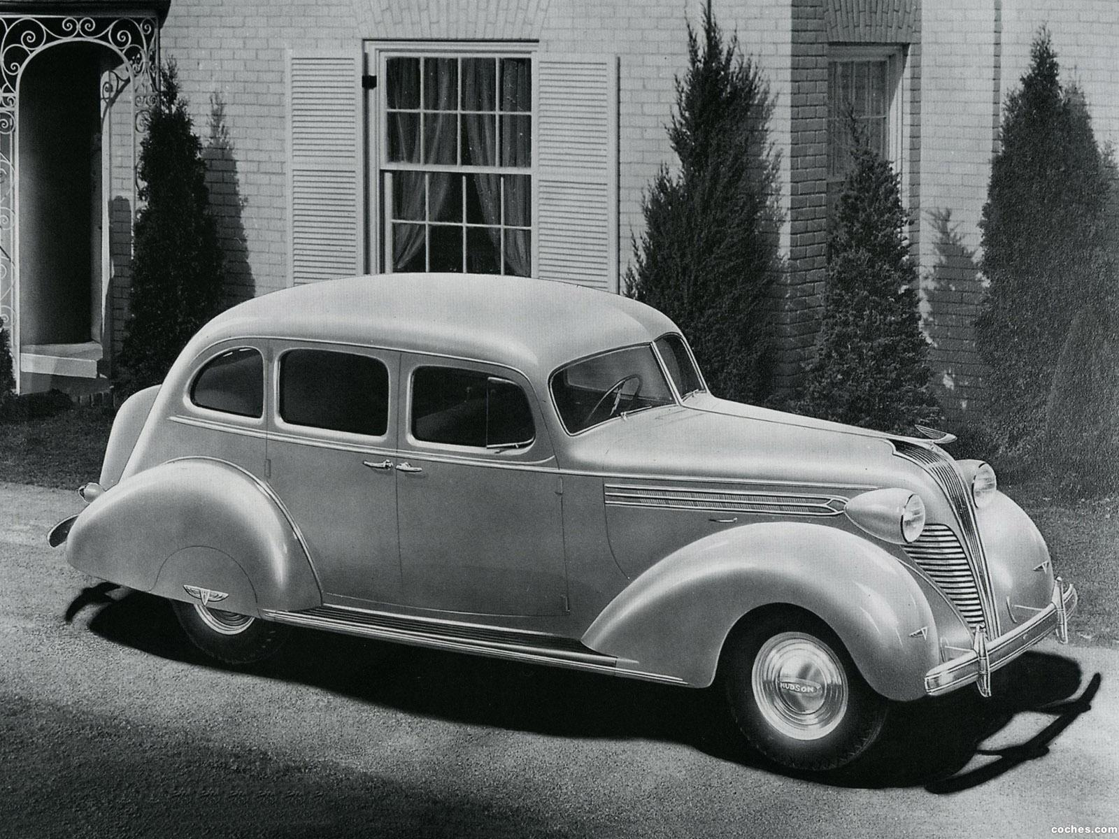 Foto 0 de Hudson Eight Touring Sedan Series 75 1937