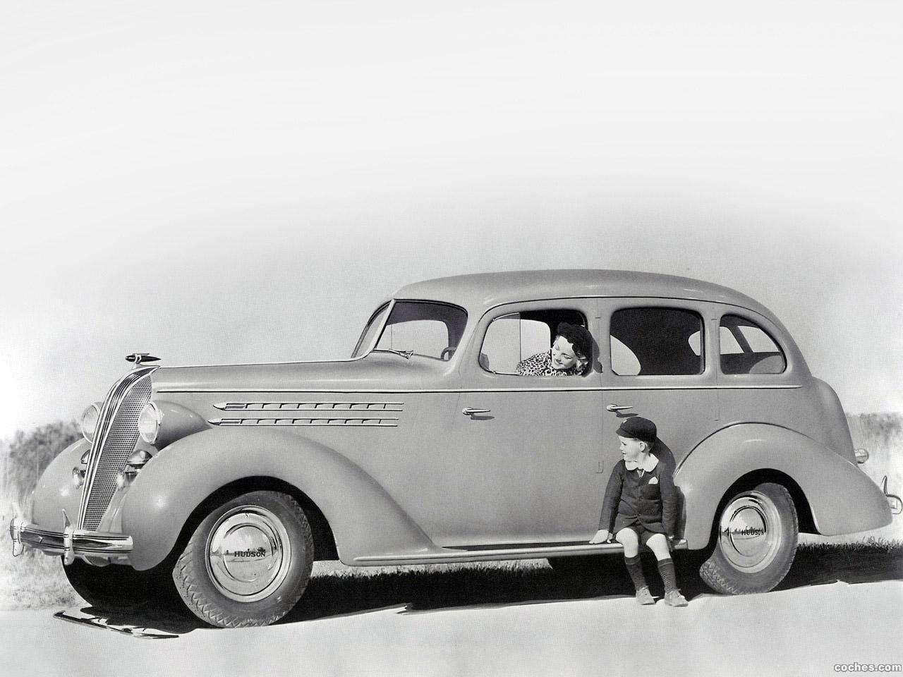 Foto 0 de Hudson Custom Six Touring Sedan Series 63 1936