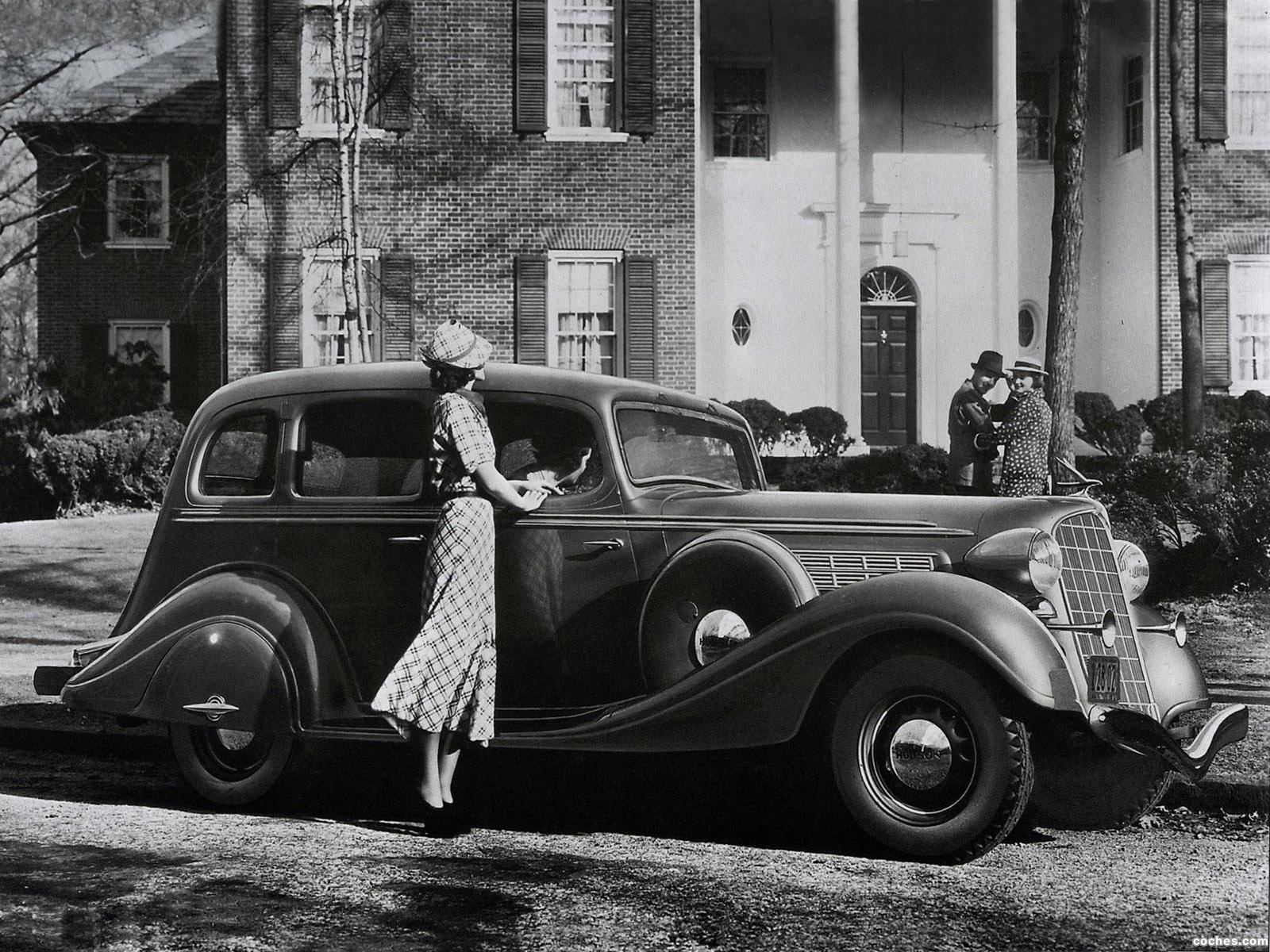 Foto 0 de Hudson Deluxe Eight Sedan 1935