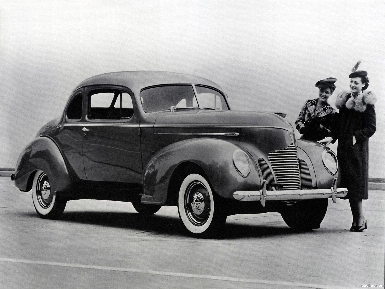 Foto 0 de Hudson Deluxe Six Coupe 1939