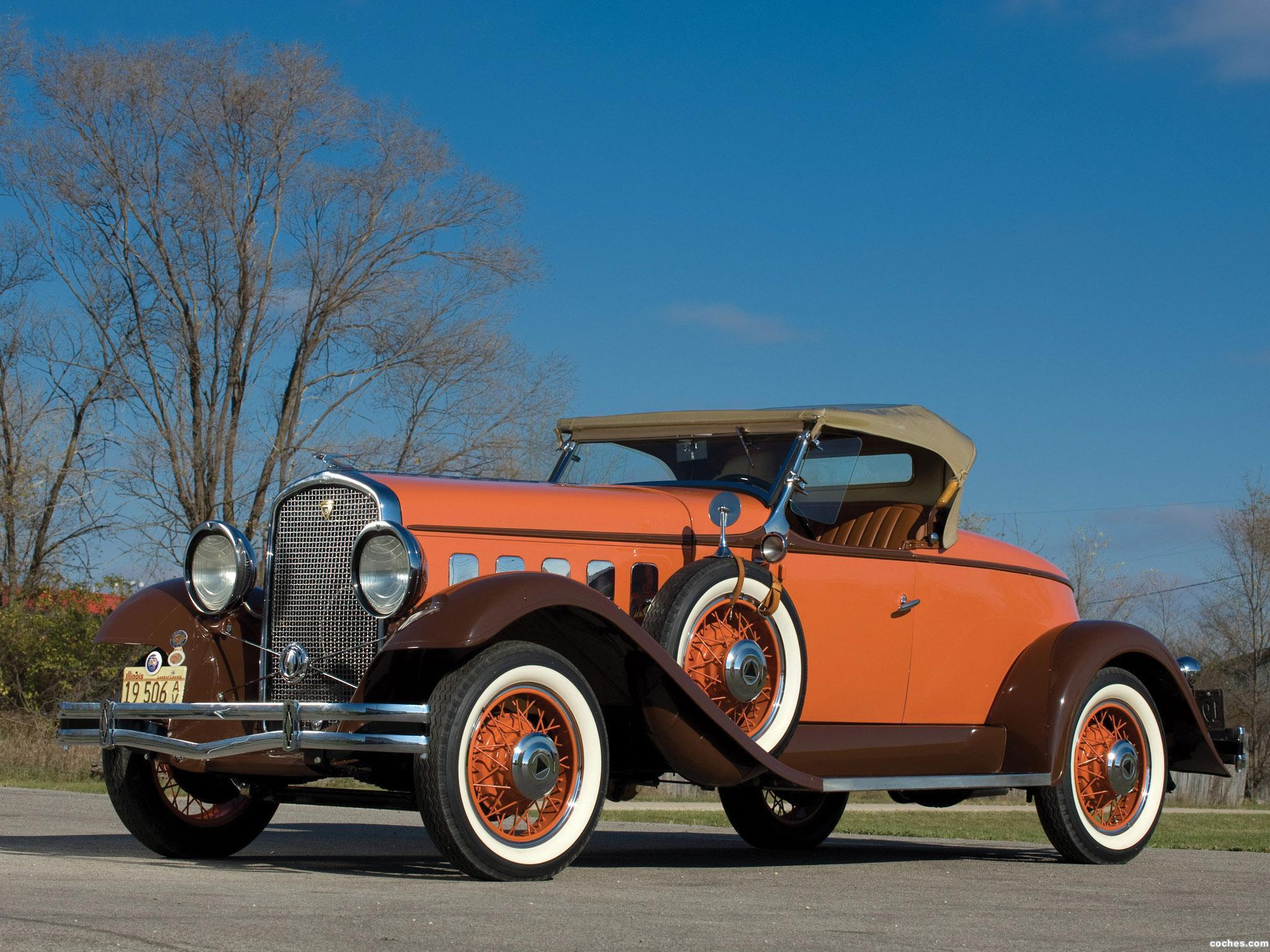 Foto 0 de Hudson Greater Eight Sport Roadster Series T 1931