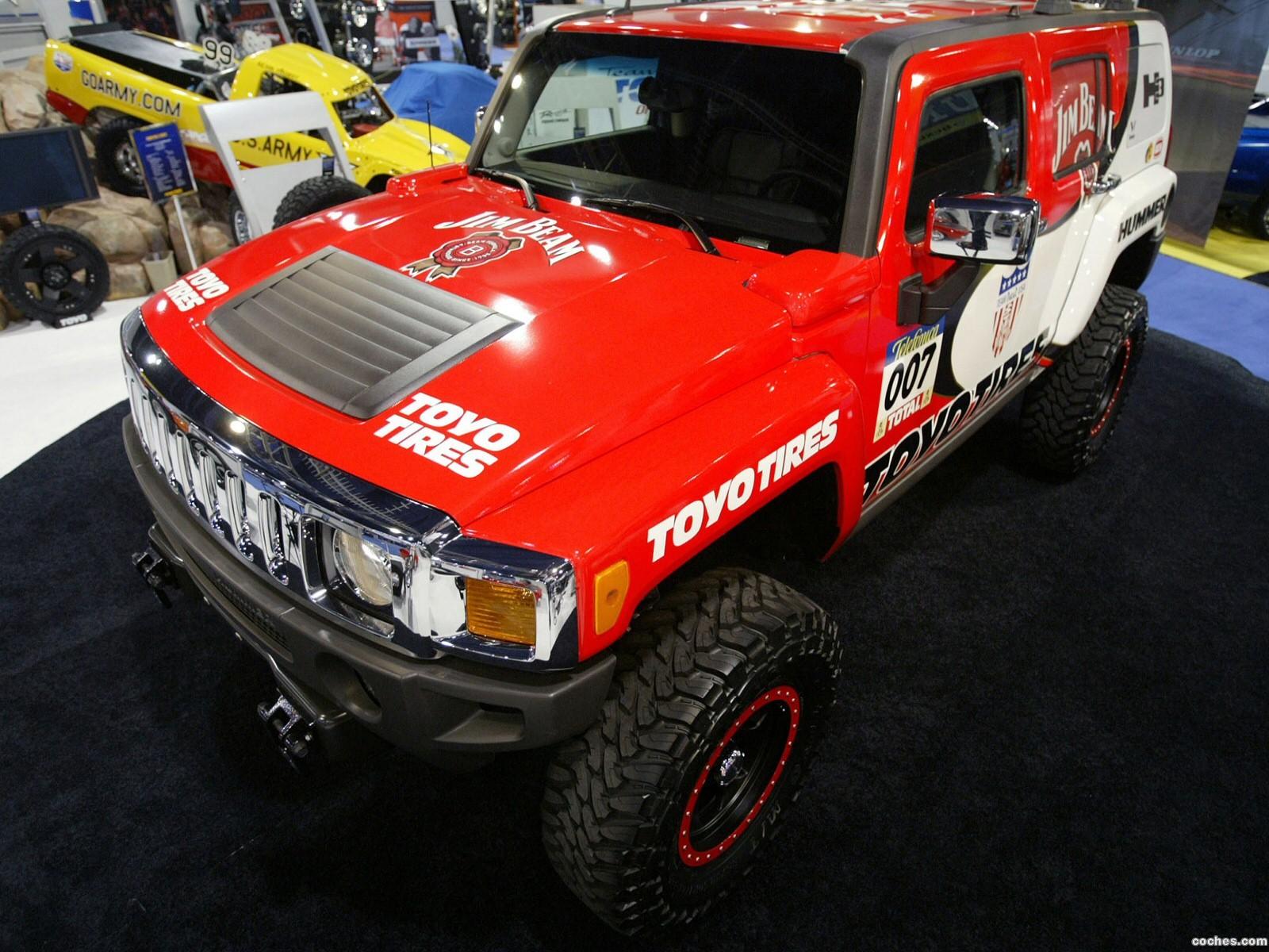 Foto 0 de Hummer H3 Race Truck Dakar 2006