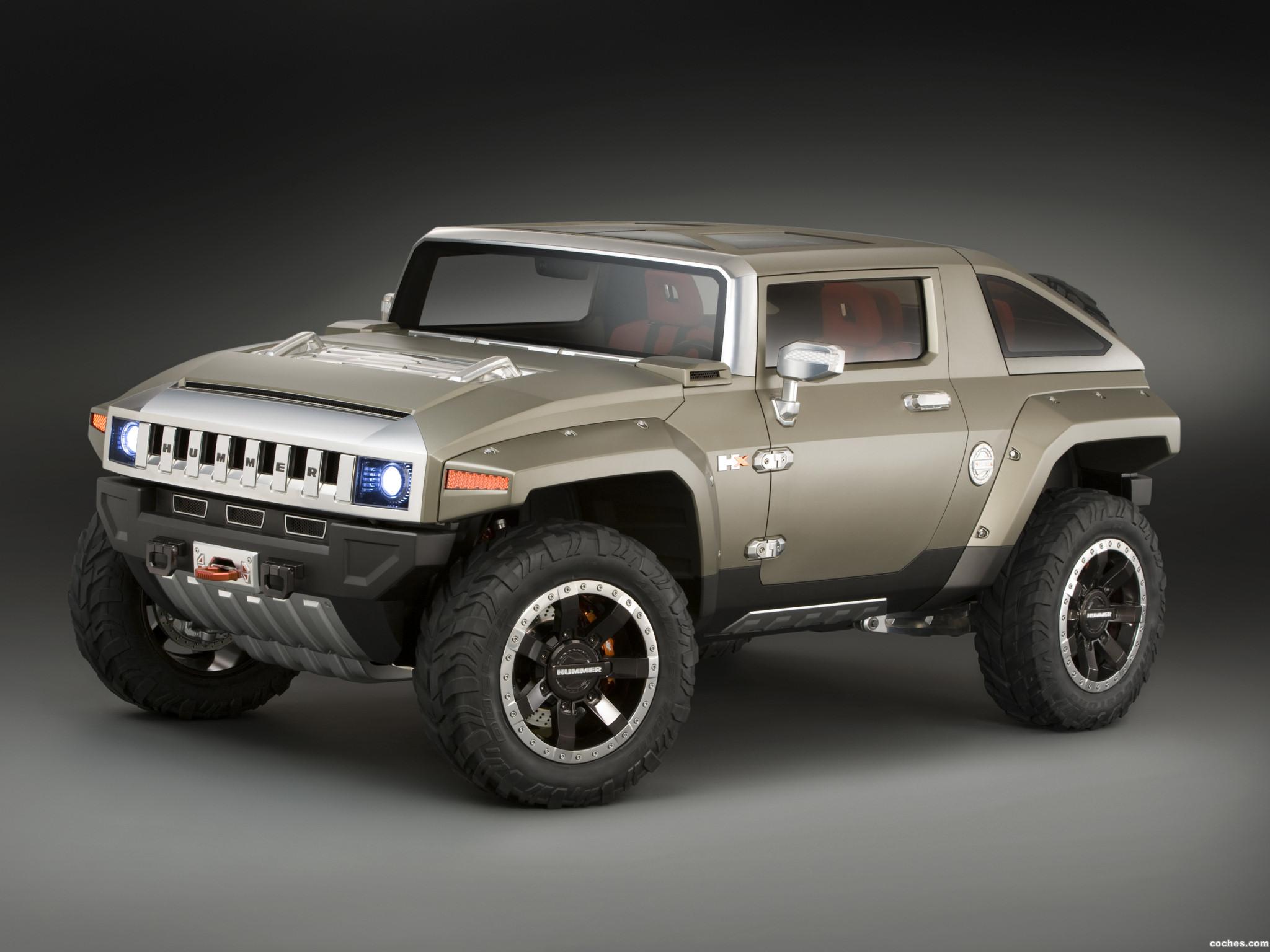 Foto 0 de Hummer HX Concept 2008