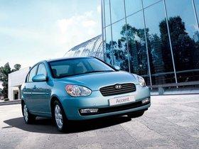 Ver foto 9 de Hyundai Accent Sedan 2006