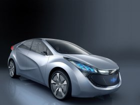 Fotos de Hyundai Blue Will Concept 2009