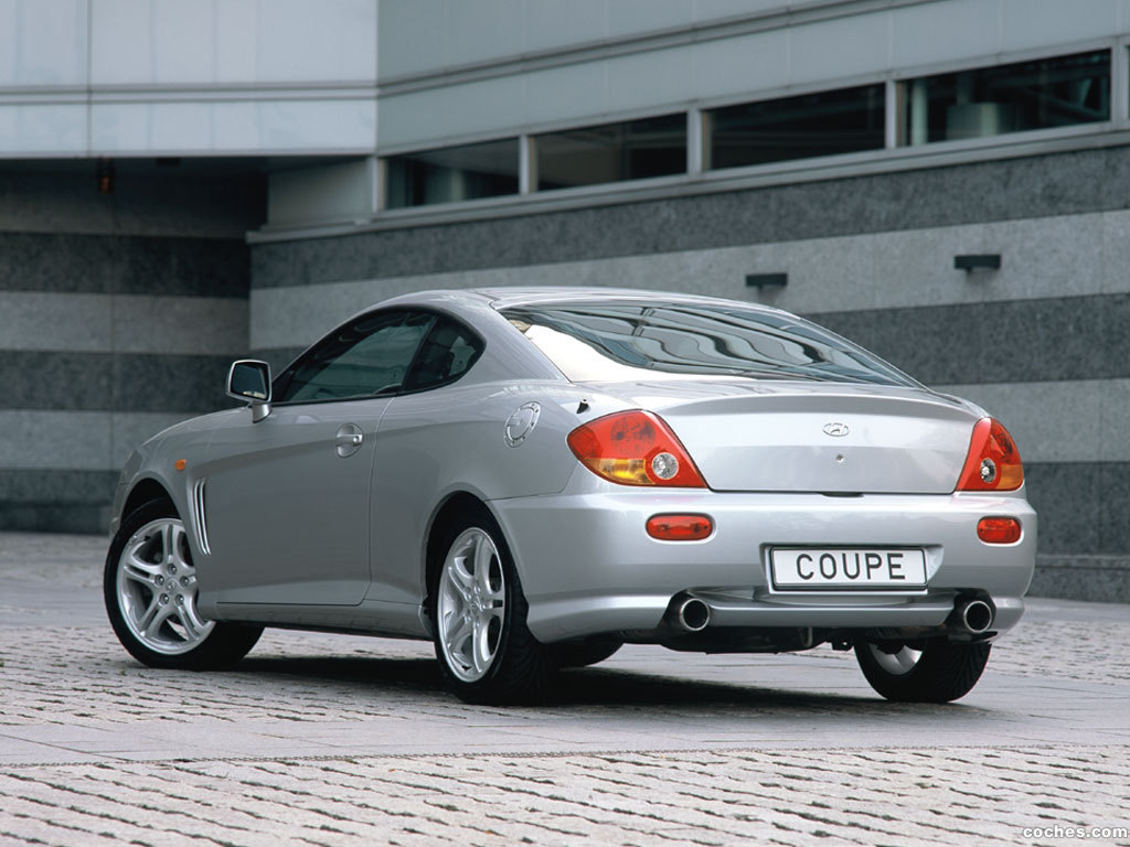 Foto 3 de Hyundai Coupe 2002