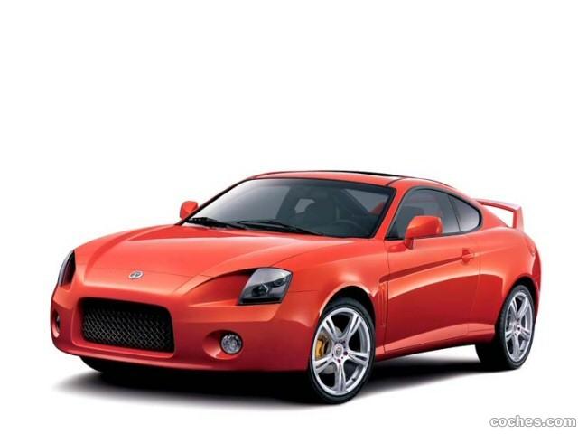 Foto 0 de Hyundai Coupe Aero Concept 2002