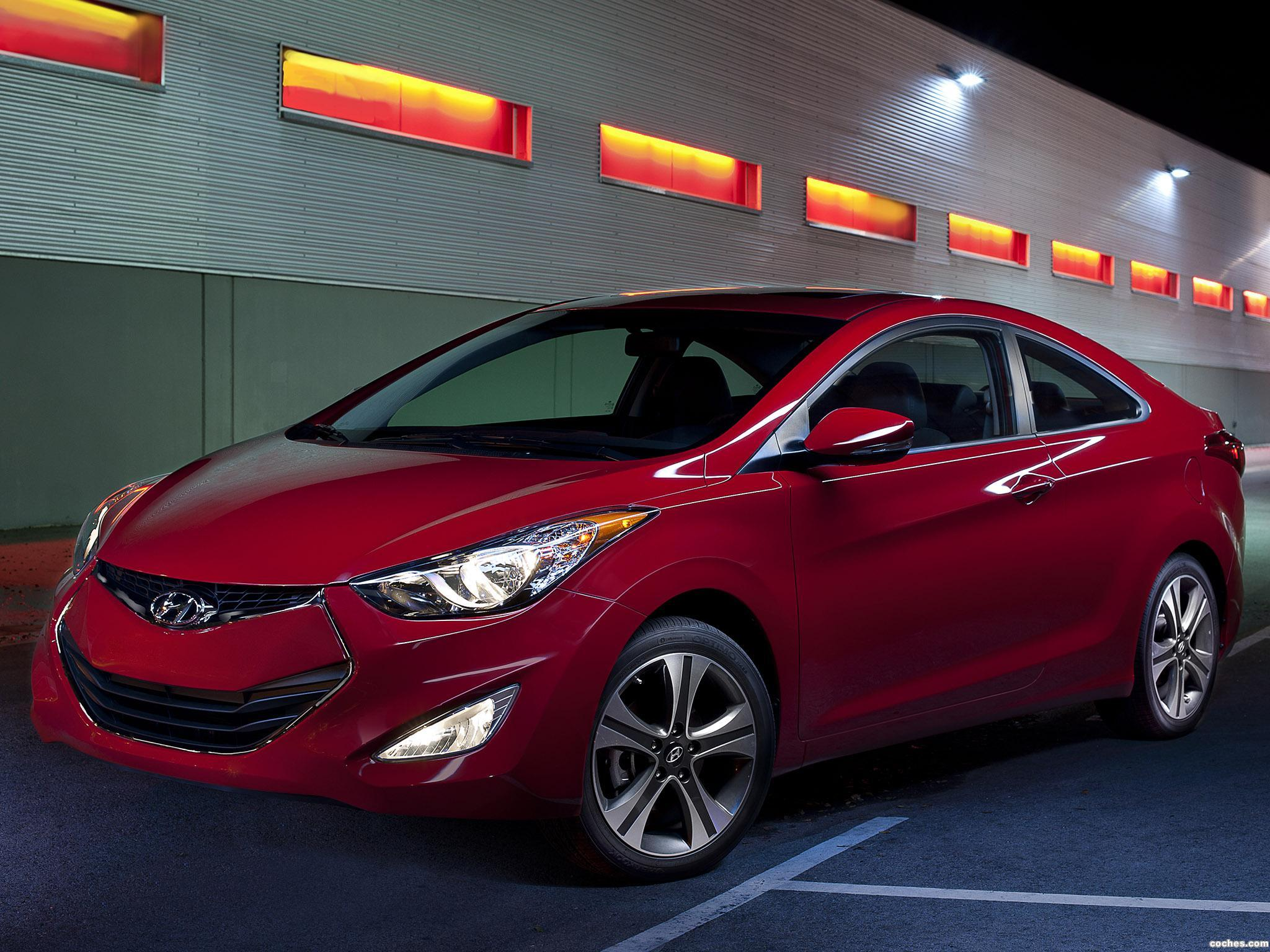 Foto 0 de Hyundai Elantra Coupe USA 2012