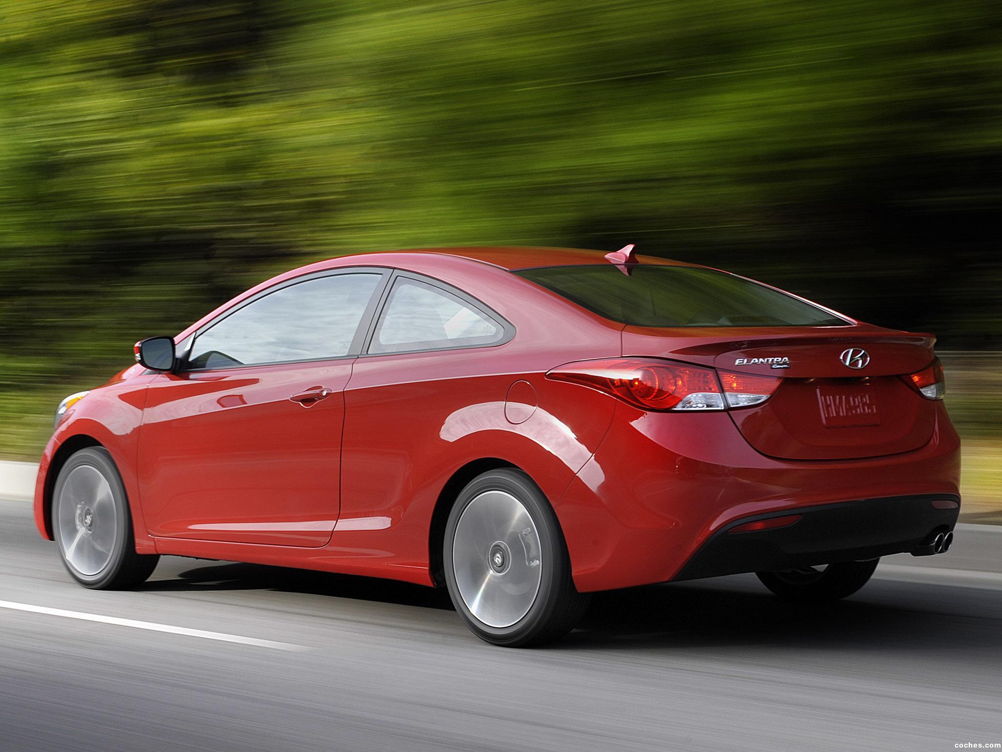 Foto 6 de Hyundai Elantra Coupe USA 2012