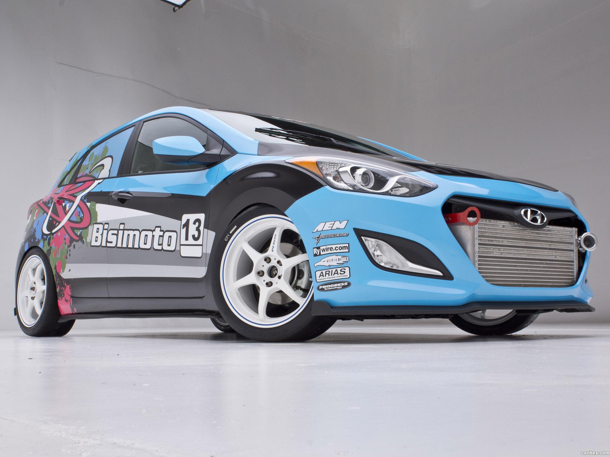 Foto 4 de Hyundai Elantra GT Concept by Bisimoto Engineering 2012
