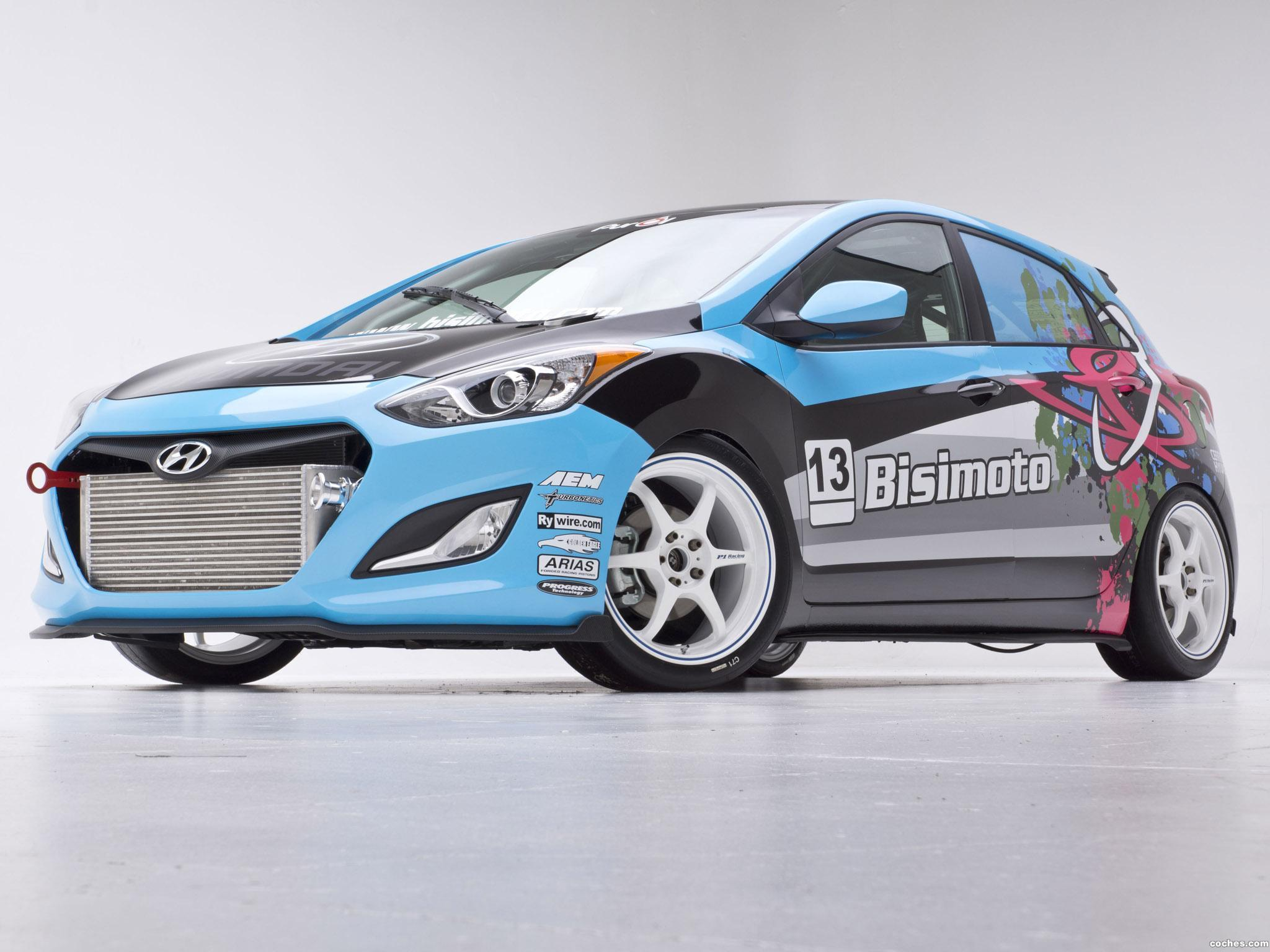 Foto 3 de Hyundai Elantra GT Concept by Bisimoto Engineering 2012