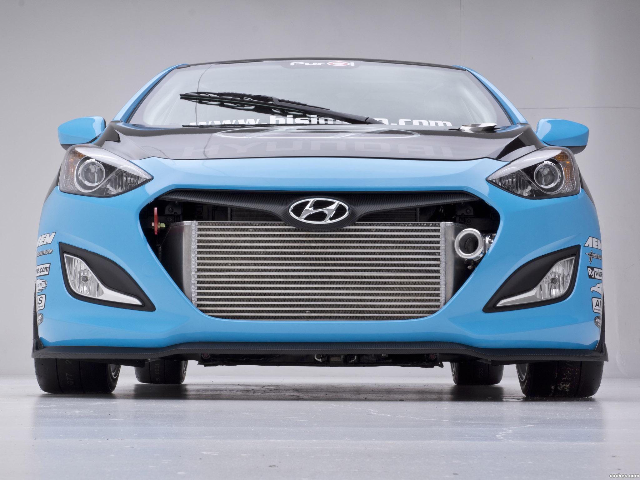 Foto 1 de Hyundai Elantra GT Concept by Bisimoto Engineering 2012