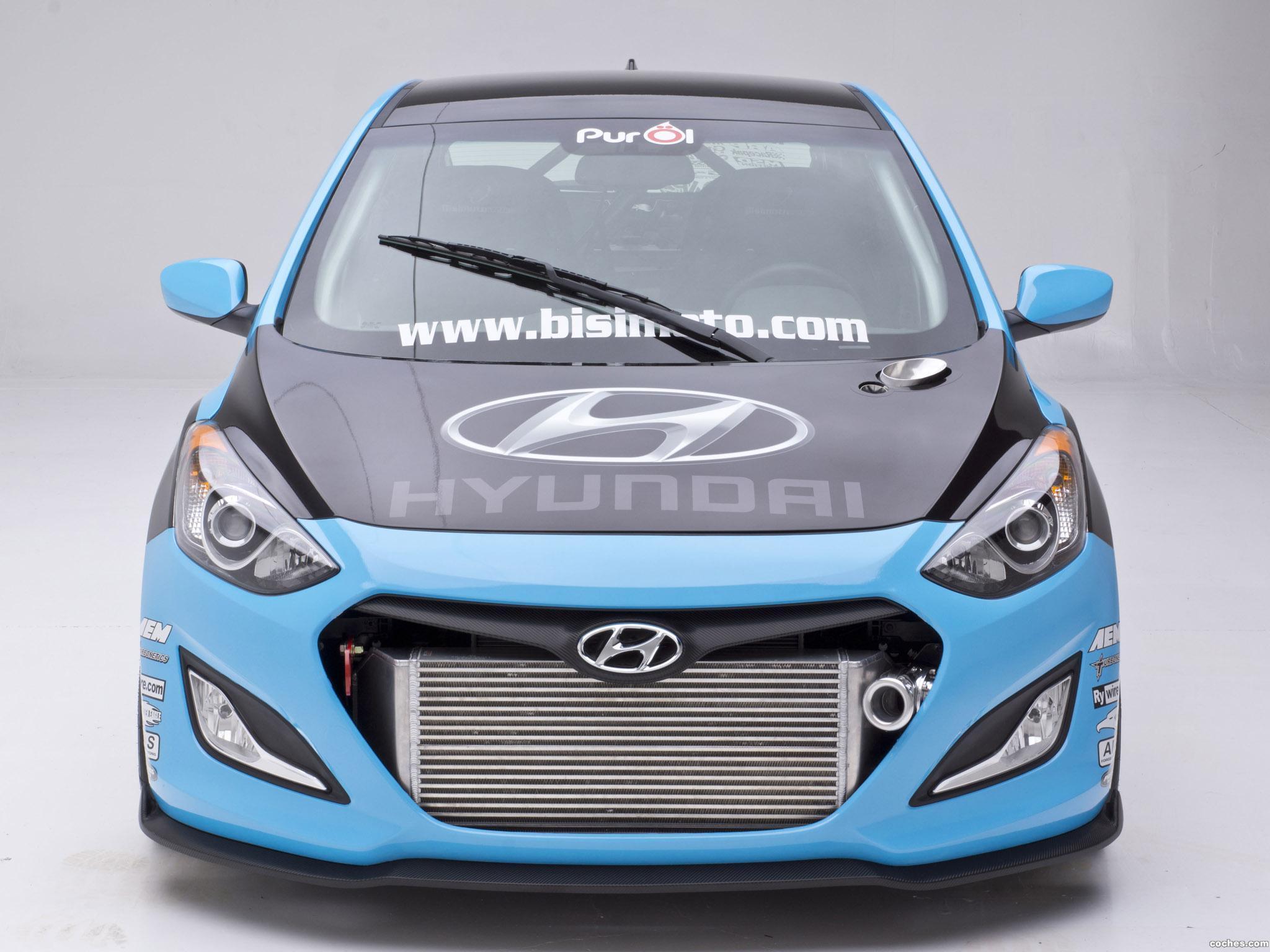Foto 9 de Hyundai Elantra GT Concept by Bisimoto Engineering 2012