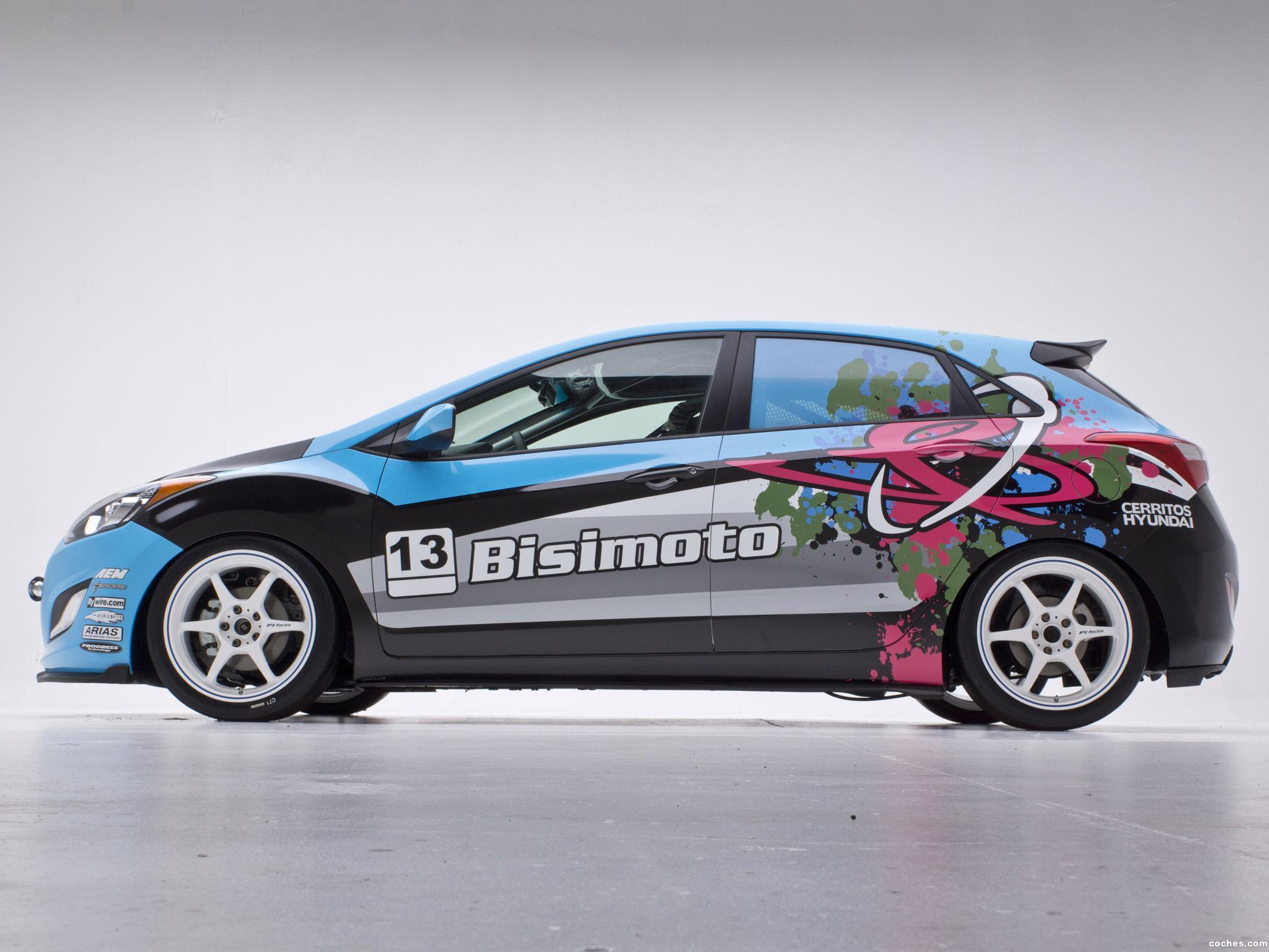 Foto 7 de Hyundai Elantra GT Concept by Bisimoto Engineering 2012