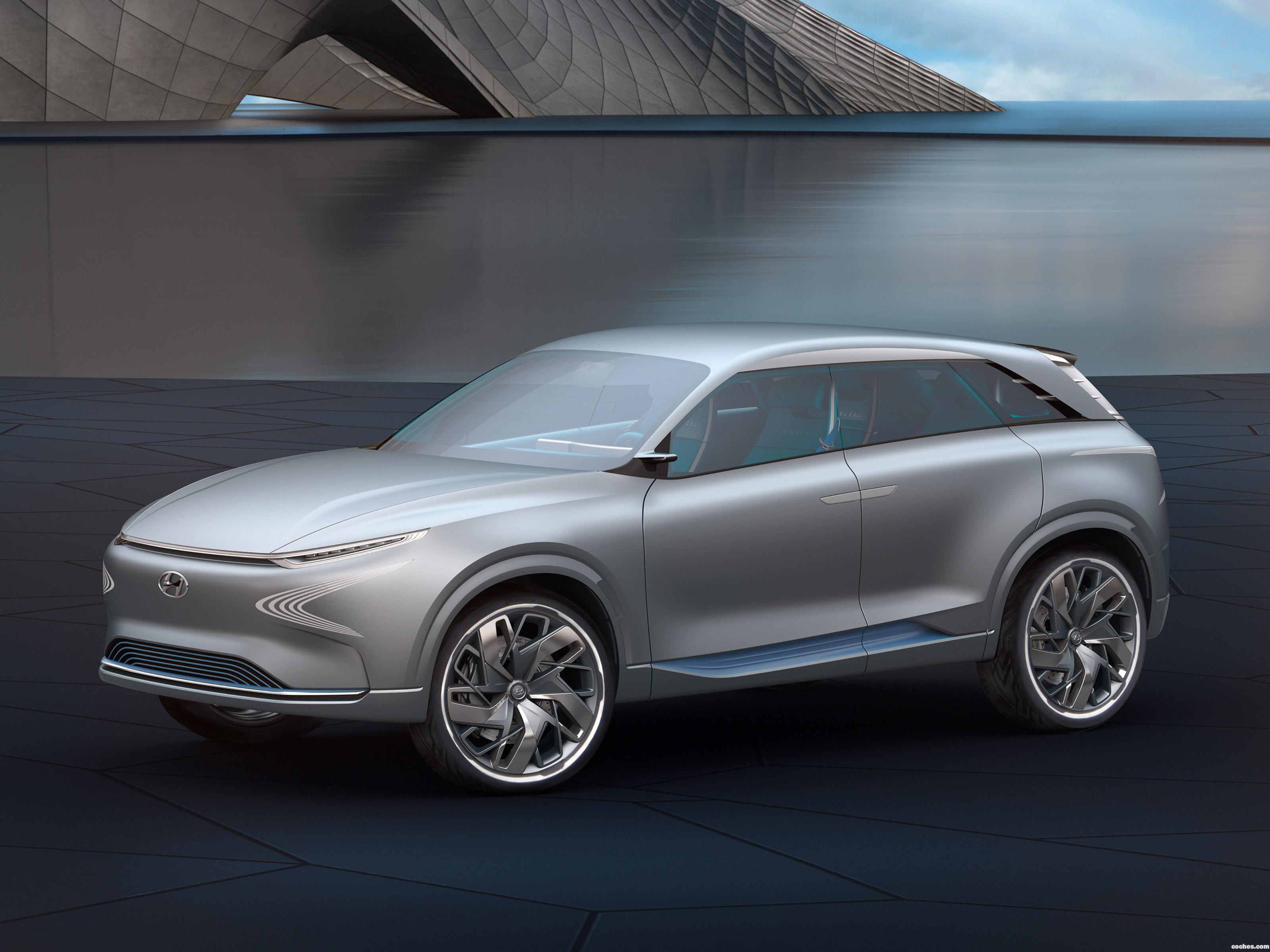 Foto 0 de Hyundai FE-Fuel Cell Concept 2017
