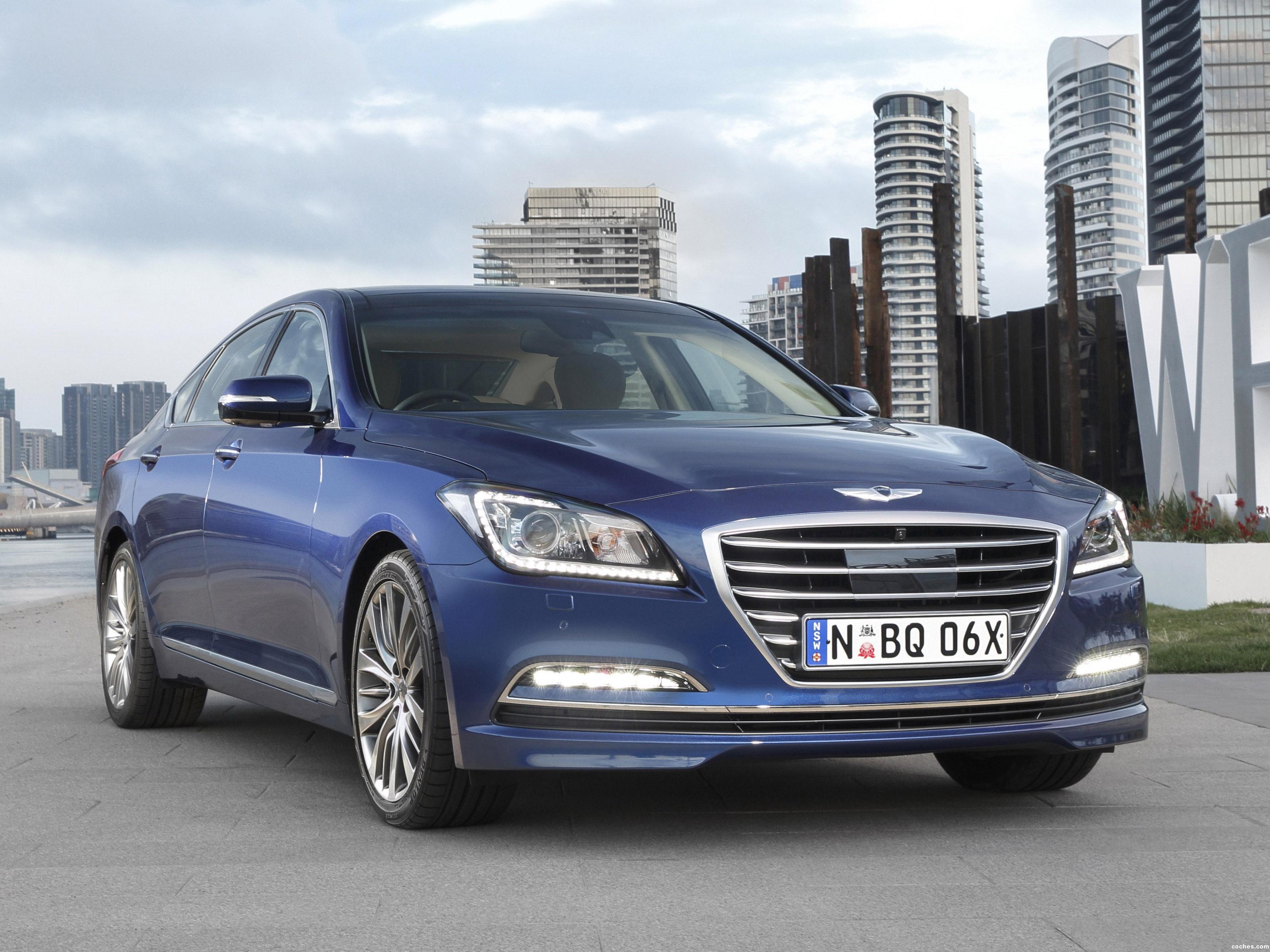 Foto 0 de Hyundai Genesis Australia 2014
