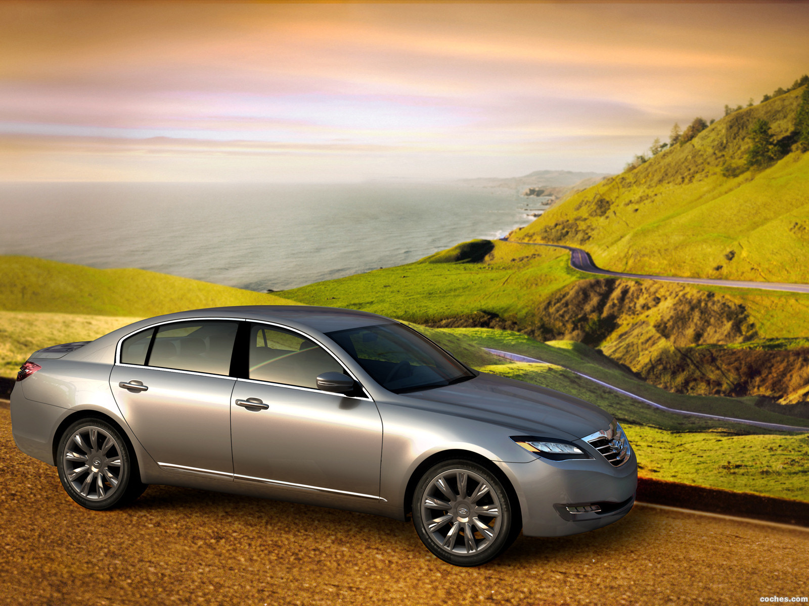 Foto 8 de Hyundai Genesis Concept 2007