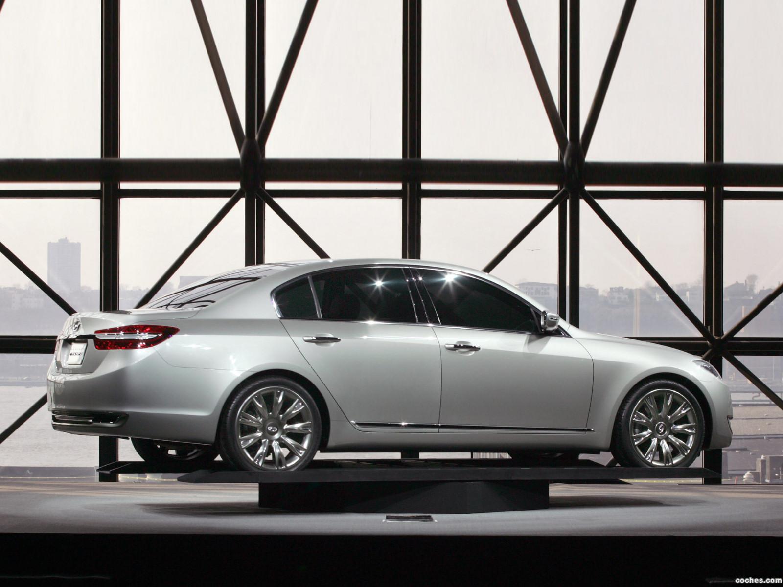 Foto 7 de Hyundai Genesis Concept 2007