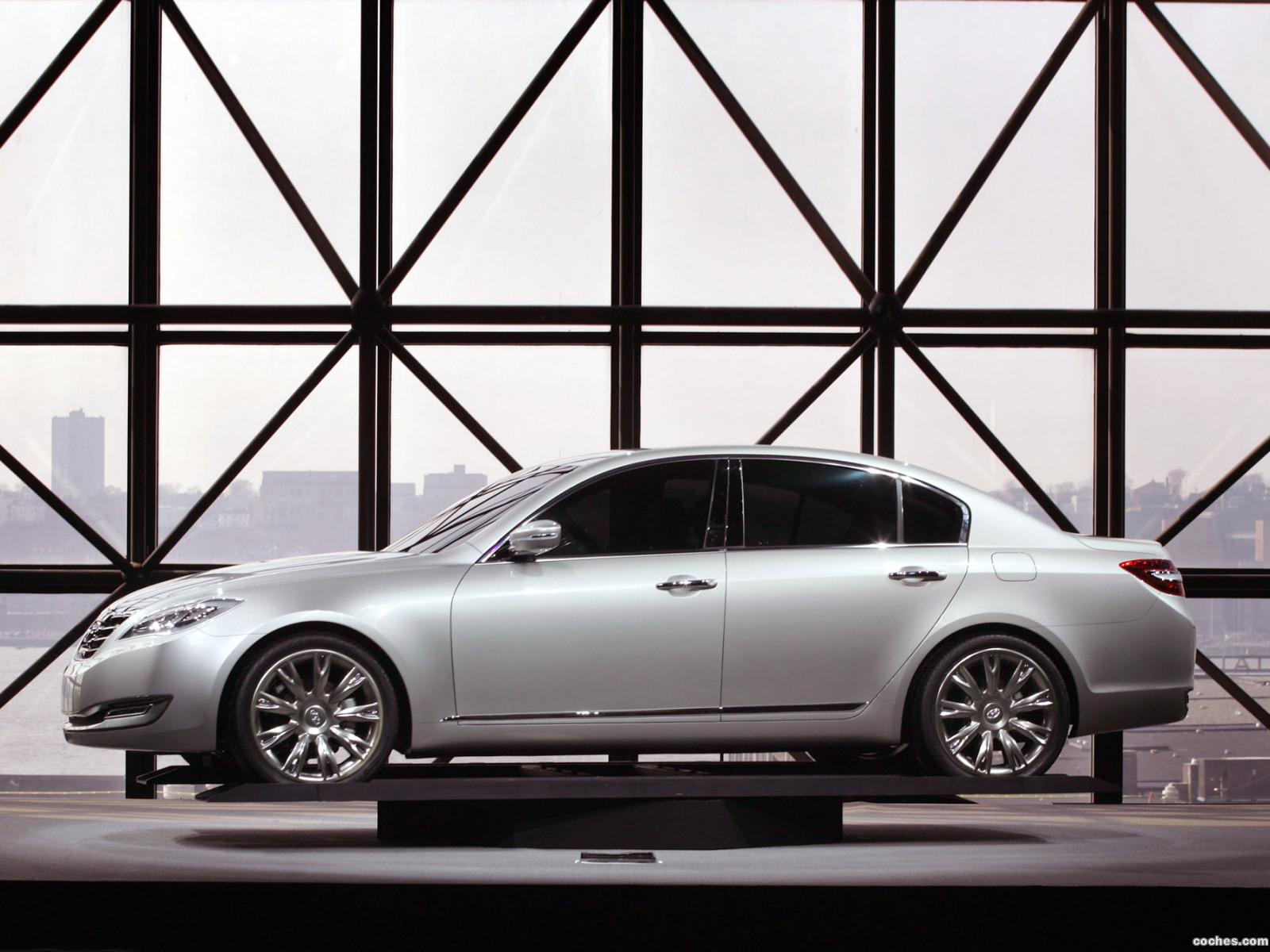Foto 4 de Hyundai Genesis Concept 2007