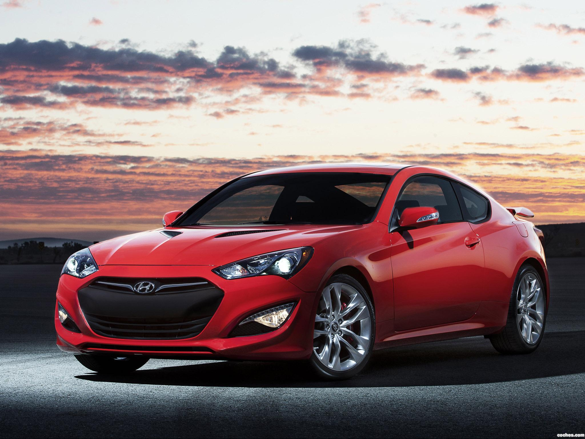 Foto 0 de Hyundai Genesis Coupe 2012