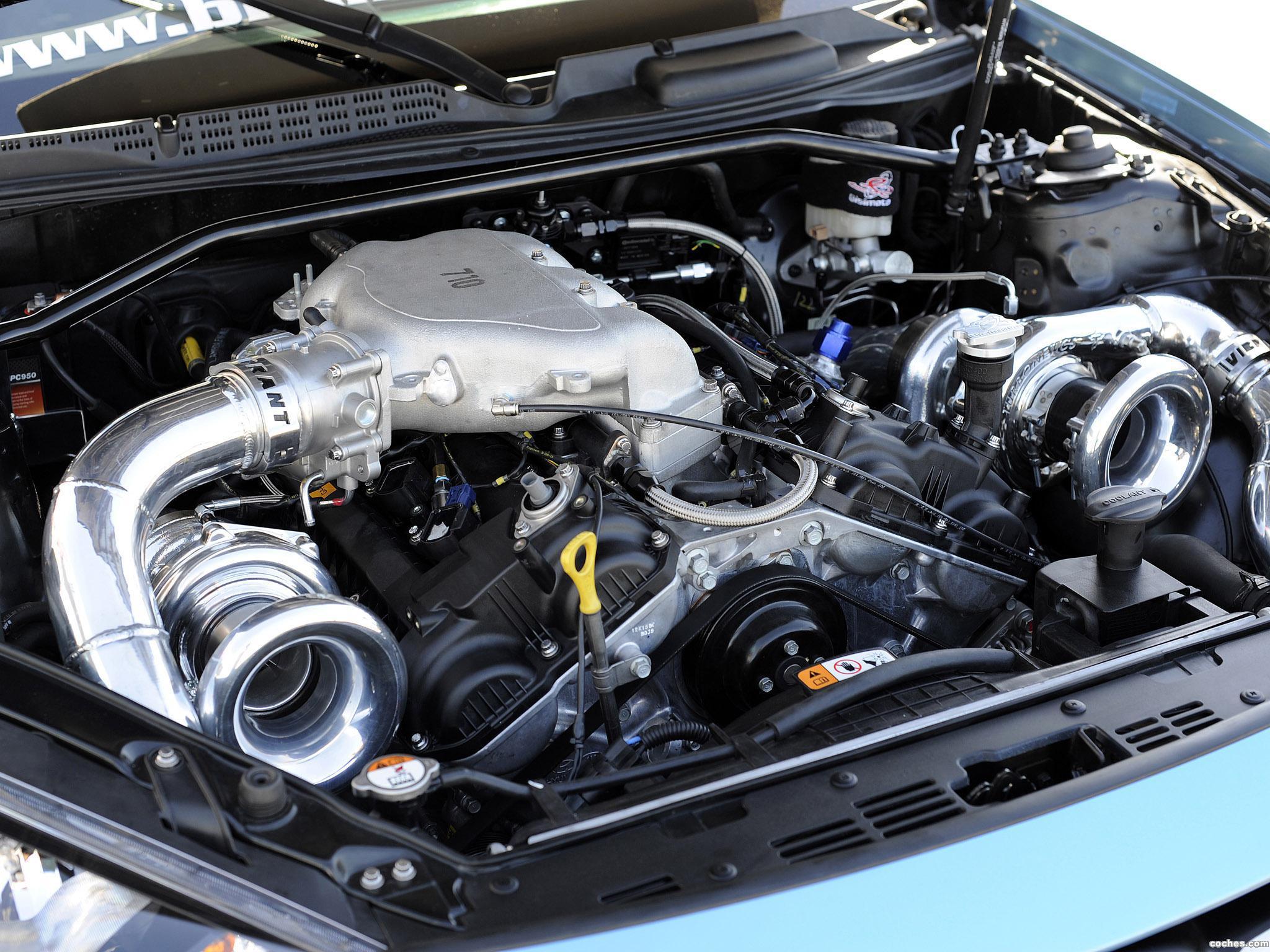 Foto 6 de Hyundai Genesis Coupe Bisimoto 2013