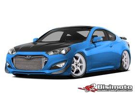 Ver foto 1 de Hyundai Genesis Coupe Bisimoto 2013