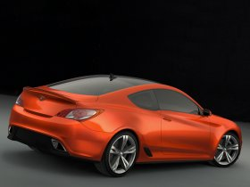 Ver foto 5 de Hyundai Genesis Coupe Concept 2007