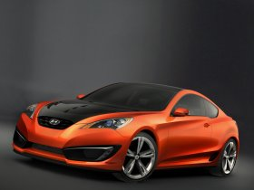 Ver foto 1 de Hyundai Genesis Coupe Concept 2007