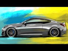 Ver foto 2 de Hyundai Genesis Coupe Legato Concept ARK Performance 2013