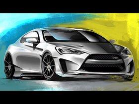 Ver foto 1 de Hyundai Genesis Coupe Legato Concept ARK Performance 2013