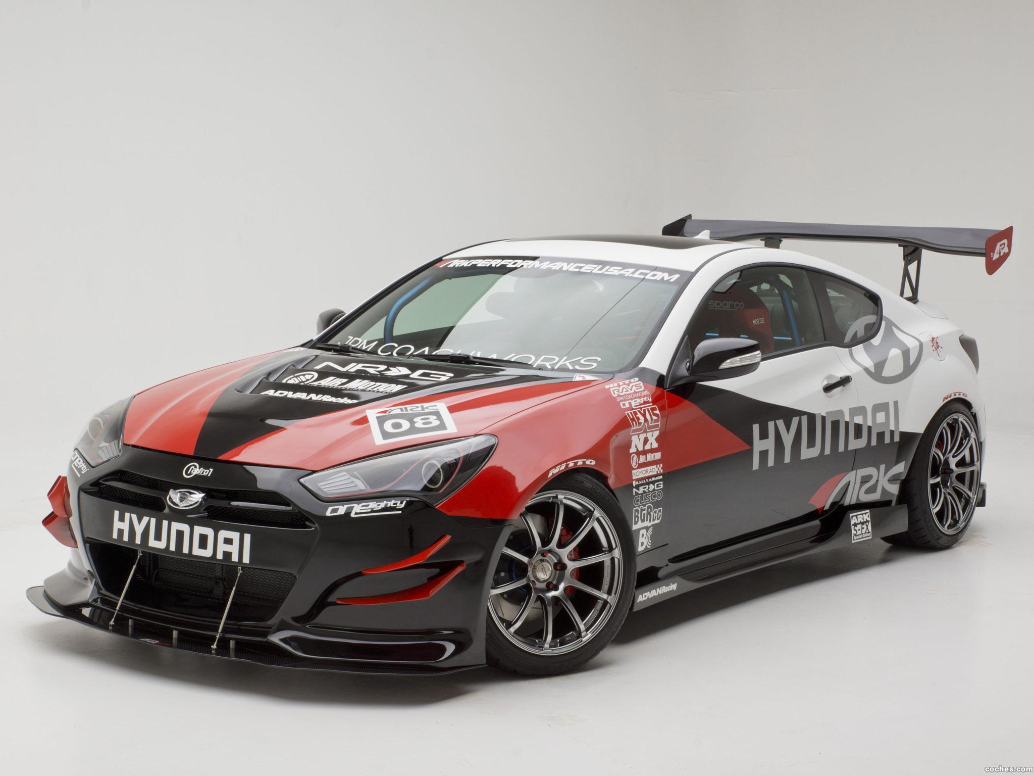 Foto 1 de Hyundai Genesis Coupe R-Spec Track Edition ARK Performance 2012