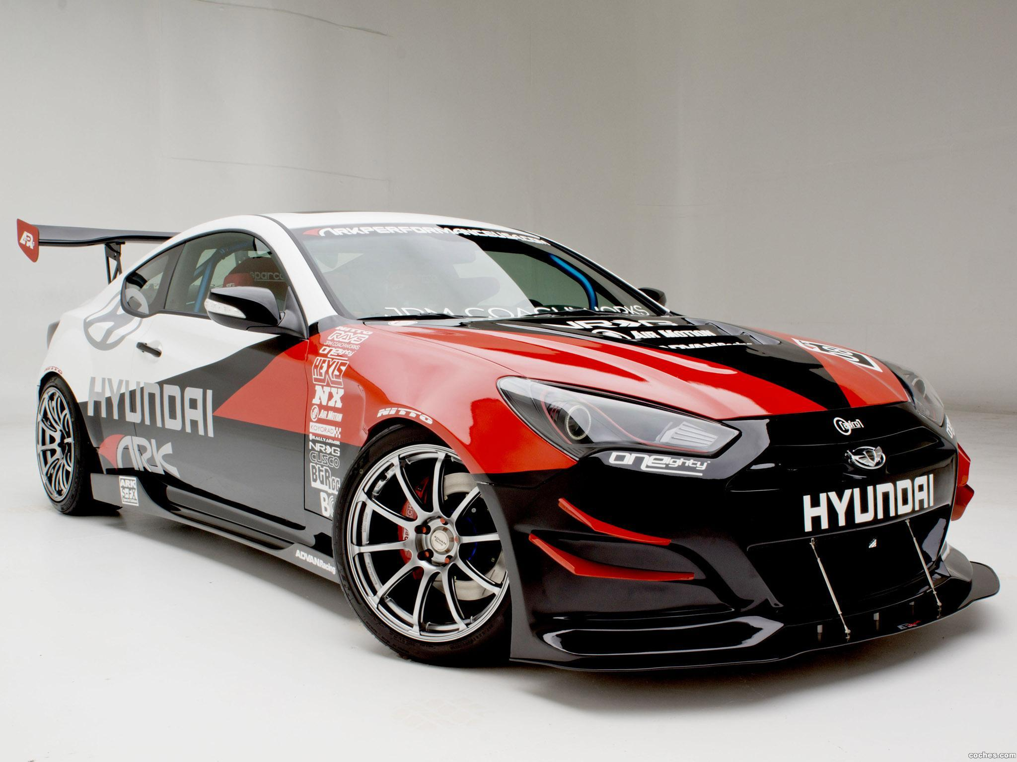 Foto 0 de Hyundai Genesis Coupe R-Spec Track Edition ARK Performance 2012