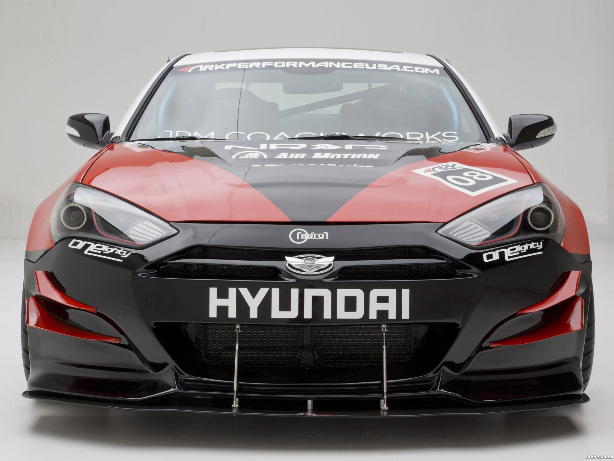 Foto 8 de Hyundai Genesis Coupe R-Spec Track Edition ARK Performance 2012