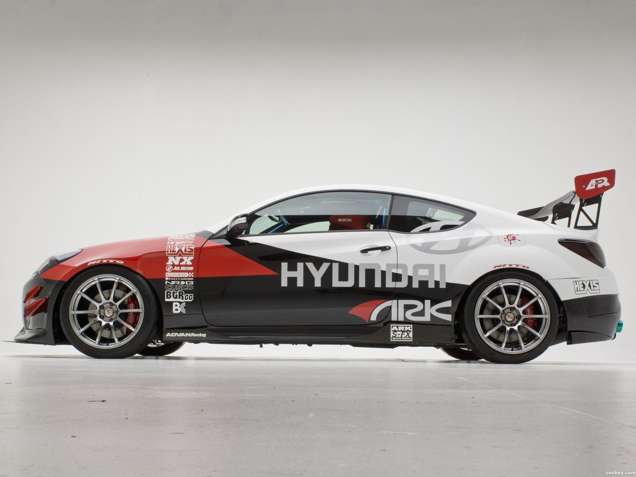 Foto 6 de Hyundai Genesis Coupe R-Spec Track Edition ARK Performance 2012